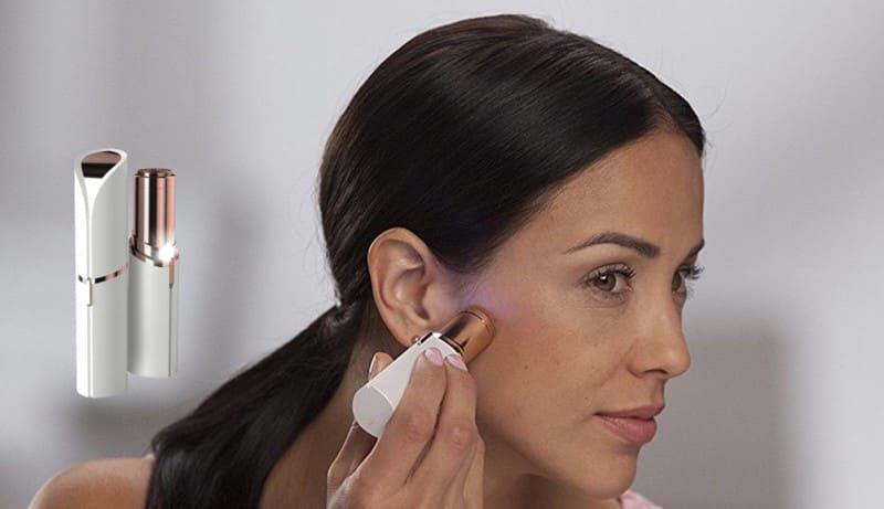Przyjemna i efektowna depilacja skóry twarzy? To możliwe z depilatorem Flawless. Zobacz opis i opinie 2019