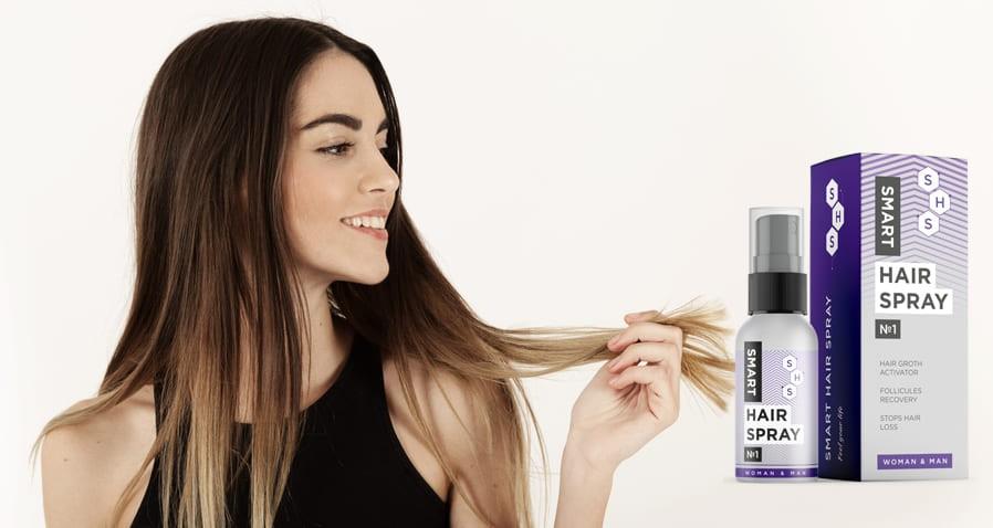 Spray Smart Hair Spray: Scopri di più sul nuovo farmaco – ripristina la bellezza dei capelli. Informazioni 2019